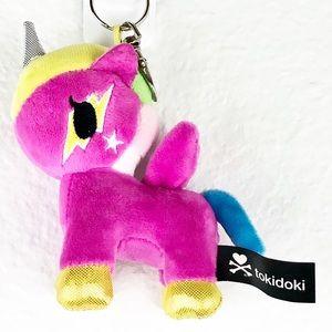 Tokidoki Unicorn Plush Keychain